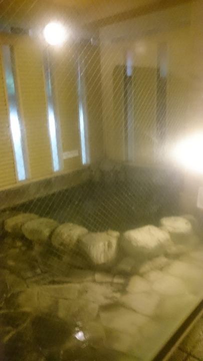 アパホテル高崎駅前の温泉大浴場の露天風呂