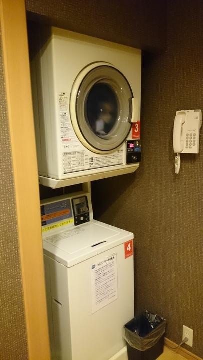 アパホテル高崎駅前の温泉大浴場の洗濯機