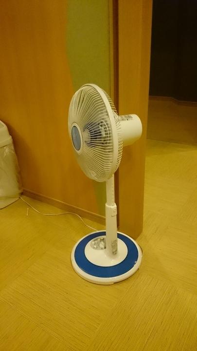 アパホテル高崎駅前の温泉大浴場の扇風機