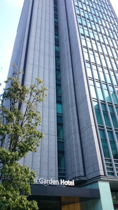 三井ガーデンホテル銀座プレミアの外観