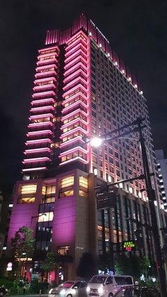 写真クチコミ:ライトアップされたザ・ペニンシュラ東京