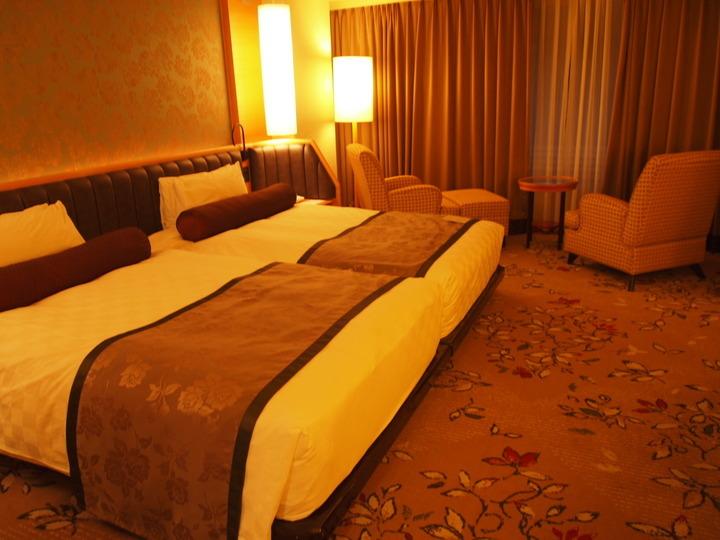 グランドプリンスホテル京都のベッドルーム