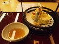 グランドプリンスホテル京都の日本料理「宝ケ池」夕食の揚げ物
