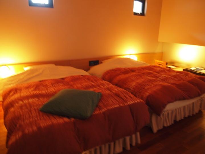 朝里川温泉小樽旅亭藏群の寝室