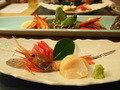 朝里川温泉小樽旅亭藏群の夕食