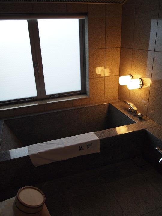 朝里川温泉小樽旅亭藏群の客室の風呂