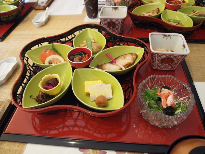 朝里川温泉小樽旅亭藏群の朝食