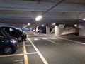 提携立体駐車場1階にあるホテル専用駐車場