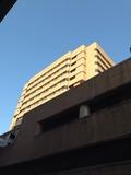 駅側から見たホテル