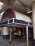 駅側の入口