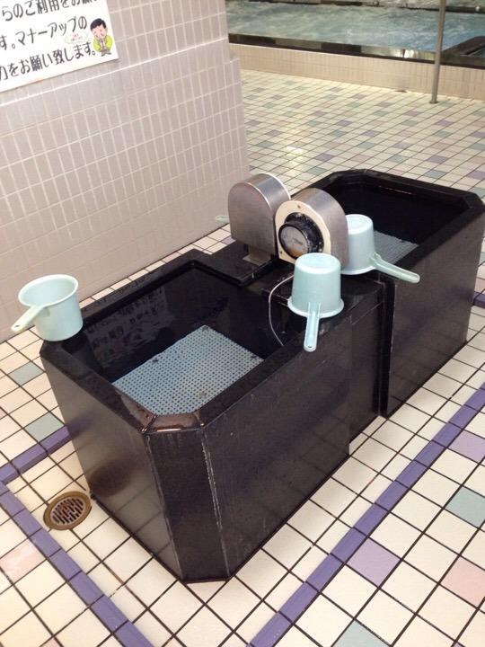 大浴場掛け湯