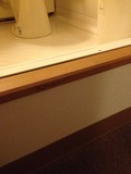 バスルーム段差