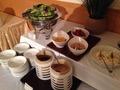朝食バイキング サラダ
