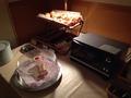 朝食バイキング パンとオーブントースター