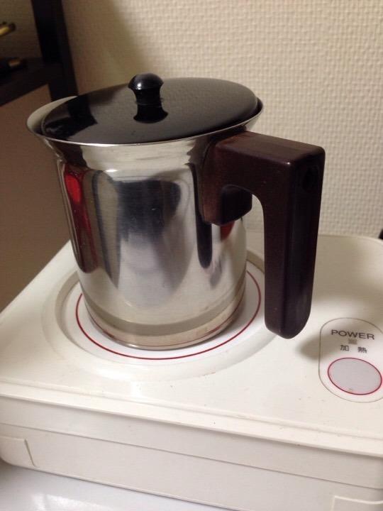 湯沸かしセット