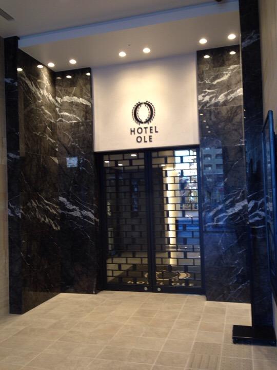 1階駅側ホテル入口