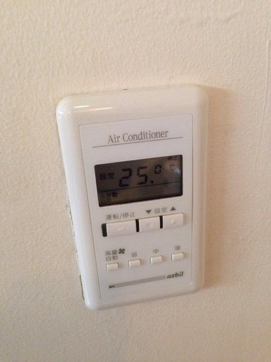 ウィルポート客室 エアコンリモコン