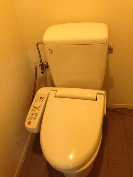 ウィルポート客室 トイレ