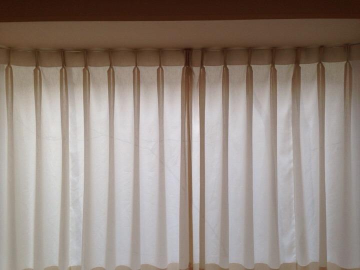 ウィルポート客室 カーテン