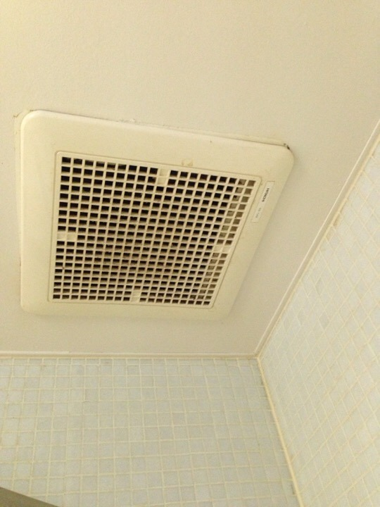 ウィルポート客室 換気扇