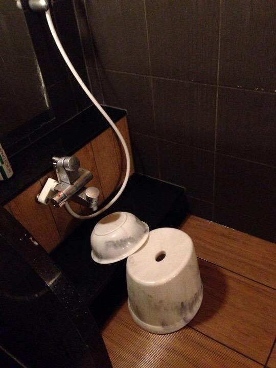 浴室洗い場