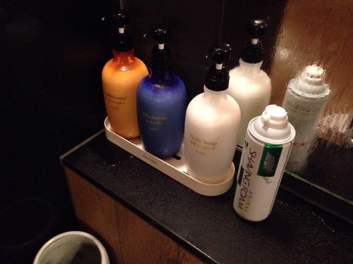 浴室石鹸類