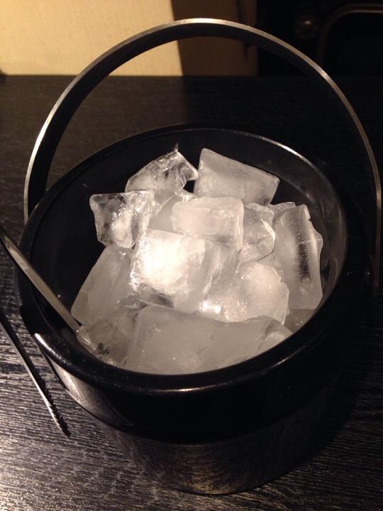 フロントで用意してくれた氷