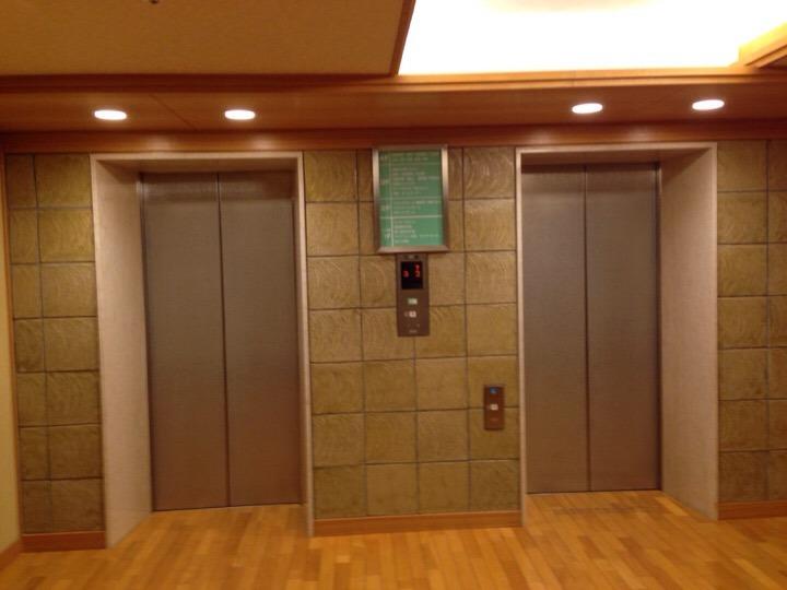 湯あみの島エレベーター