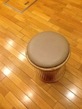 写真クチコミ:脱衣所丸椅子