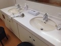 大浴場洗面台