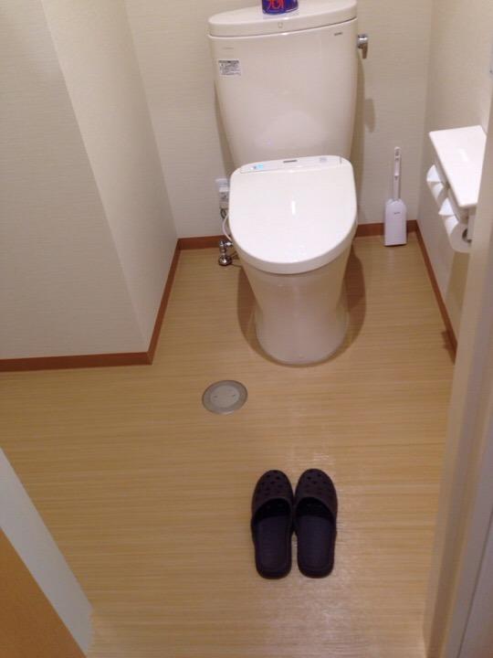 大浴場トイレ