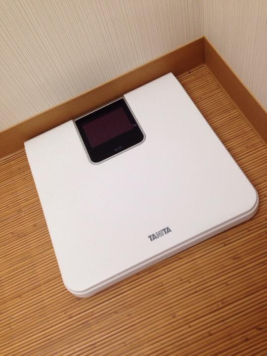 大浴場体重計