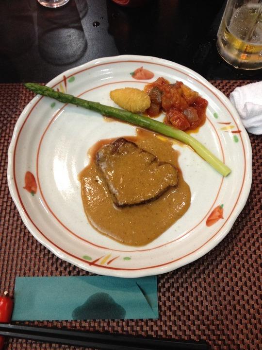 美味しい料理と絶景の露天風呂
