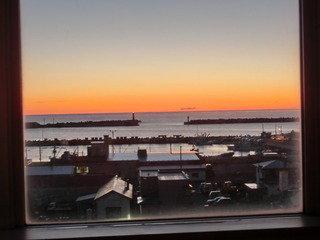 写真クチコミ:窓からの眺望、朝焼けが忘れられないほど美しかった、、、