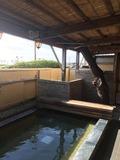 鴨川ユニバ−スホテル露天風呂