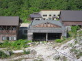 近くの展望台から望むニセコ五色温泉旅館