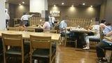 広々としたレストランでいただく朝食