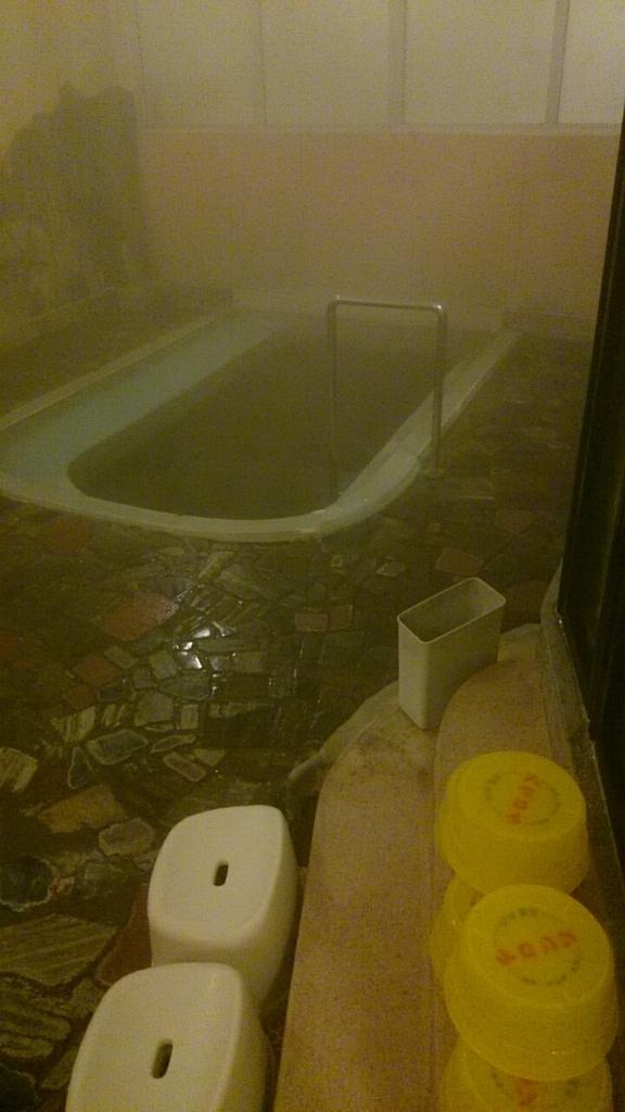 露天風呂もいいが、内湯も味がある。