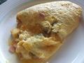 【スカイラウンジ オルフェウス:朝食ブッフェ】オムレツは目の前で焼いてくれます♪