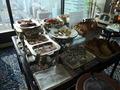 【スカイラウンジ オルフェウス:朝食ブッフェ】肉料理もあってガッツリ食べれます