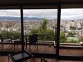 ヒルトップスイートルームからの眺望