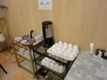朝食のコーヒー