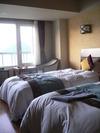 ベッドもなかなかgood!