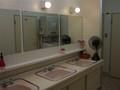 浴場の洗面台
