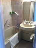 バスルームで泡風呂