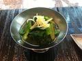 本日の先付 寿司六緑「にぎり寿司ビジネスランチ」