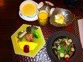 朝食「洋」の品々