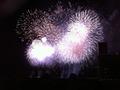 屋上から見る熱海花火大会