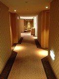 客室フロアの廊下