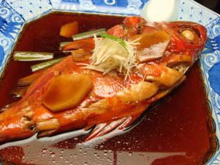 伊豆・濤亭(キンメの煮付け)